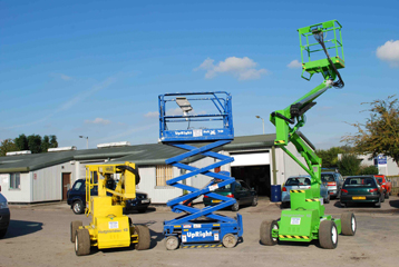 Smart Platform Cherry Picker Hire